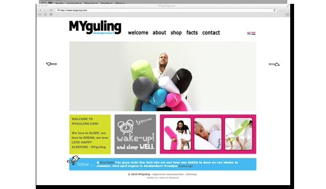 MYguling-website